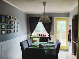 dining rooms with wainscoting dining room great dining room design with grey and white floral