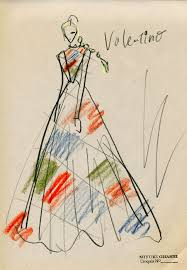 106 best f ilust valentino images on pinterest fashion sketches