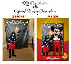 Mickey Mouse Photo Booth Have Official Disney Characters In Your Disneyside Home