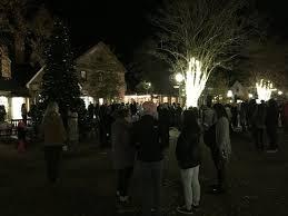 the tree lighting ceremony on market square saturday of