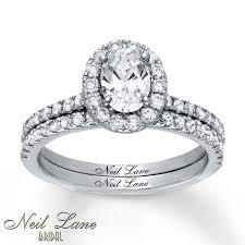 neil bridal set jared neil bridal set 1 3 4 ct tw diamonds 14k white gold