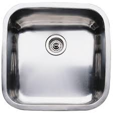 Large Kitchen Sinks Blanco Supreme Undermount Stainless Steel 20 5 Large Single Basin