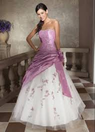 wedding dresses with purple detail purple with white lace wedding dress wedding dresses dressesss