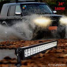 24 inch led light bar offroad 24inch 160w led light bar flood spot combo work lights 4wd ute