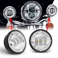 The Best Led Light Bar by 4 1 2 4 5inch Led Passing Light For Harley Davidson Fog Lamps