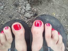 men and nail polish happy feet
