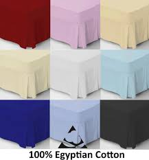 Fitted Valance Sheet Bed Sheets Uk Luxury Egyptian Cotton Linen Star
