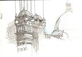 queen victoria building u2013 sketching the east entrance gasp