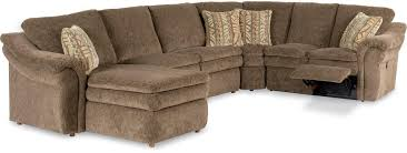 Reclining Sectional Sofas 5 Power Reclining Sectional With Ras Chaise And 2 Recliners