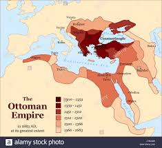 map of ottoman empire history the ottoman empire at its greatest extent in