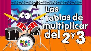 imagenes infantiles trackid sp 006 la tabla del 2 y 3 canciones infantiles youtube