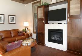 White Fireplace Entertainment Center by 49 Exuberant Pictures Of Tv U0027s Mounted Above Gorgeous Fireplaces