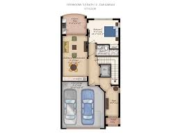 Luxury Townhomes Floor Plans Floorplan Tierra Del Sol Jupiter Luxury Townhomes