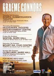 Summer Garden Theatre - graeme connors bowen concert tickets graeme connors