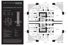 museum floor plans miami condos and real estate u2013 one thousand museum