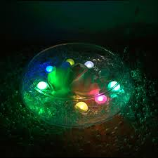 battery operated floating pool lights rgb floating led pool light 180 pieces lot battery operated