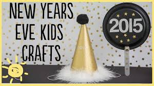 diy new years kid crafts youtube