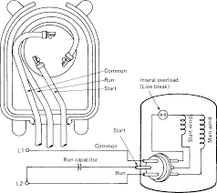 permanent split capacitor motor wiring diagram with figure 1 2