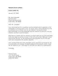 Cover Letter Examples Nursing by Nursing Instructor Cover Letter Examples Nurse Cover Letter