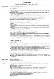 assistant controller resume samples global controller resume samples velvet jobs