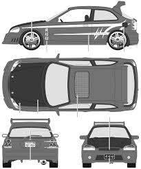honda car png car blueprints honda civic vi ej6 blueprints vector drawings