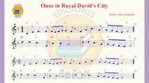 download mp3 songs free online once in royal david s city sheet
