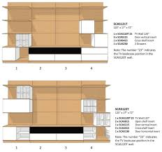 cassia modular wall unit five elements furniture