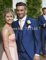 costume mariage homme bleu habit mariage hommes costume et gilet custom made bleu royal
