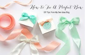 tie ribbon 25 gorgeous diy gift bows that look professional hello glow