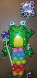 balloon delivery tulsa frog balloon character animal balloon characters tulsa ok