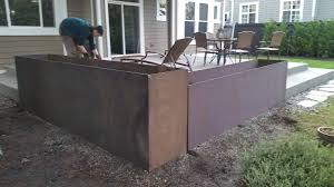 Metal Planter Box by Steel Planters Seattle Wa Redmond Wa And Surrounding Counties