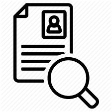 cv search cv search magnifier search resume icon icon search