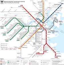 Walking Map Boston by Maps U003c Home U003c Mbta Massachusetts Bay Transportation Authority