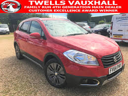 used suzuki sx4 red for sale motors co uk