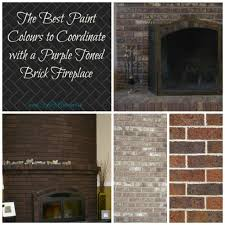 28 paint colors that go with brick fireplace 20 beautiful