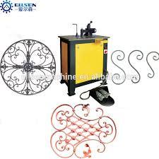 wrought iron bending machine wrought iron bending machine