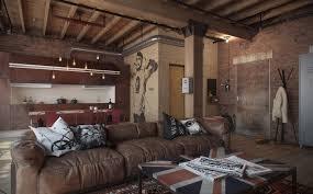 canap style industriel salon cuir vintage top canap cuir vintage places with salon cuir