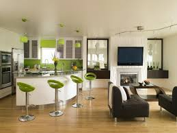 living room kitchen ideas the best of combine color living room kitchen small open and