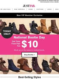 justfab s boots justfab 10 booties your pair is waiting milled