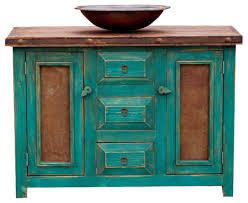 Turquoise Vanity Table Rustic Turquoise Vanity Rustic Bathroom Vanities And Sink