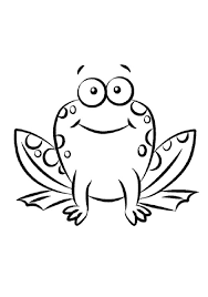 Best Frog Coloring Pictures Best Coloring Page 6169 Unknown Frog Colouring Page