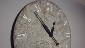 huge wall clocks reloj de pared palets large wall clock antique