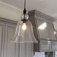 bedroom drop down lights clear glass pendant light overhead