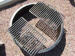 Higley Fire Pits by Amazing Fire Pit Ring Insert With Grate Garden Landscape