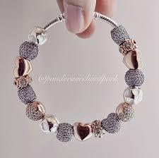 pandora jewelry silver bracelet images Authentic pandora silver charm bracelet blue aquamarine heart love jpg