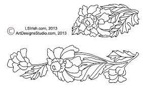 Wood Burning Patterns Free Beginners by Simple Shading In Wood Burning Daisy Pattern Project And Free