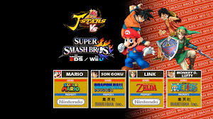 super smash bros wii u wallpapers wallpaper jstars victory vs super smash bros 4 by dragonnjmb on