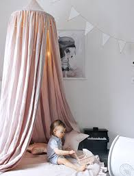 Pink Canopy Bed Cotton Room Canopy Powder Pink Josh