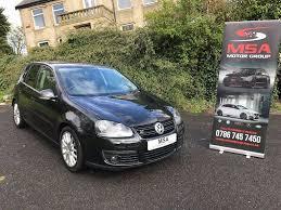 2008 vw golf gt sport tdi 170 bhp 12 months mot diesel 5dr black