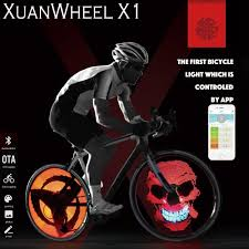 android bike app smart bluetooth app programmable bike spoke light cadence sensor